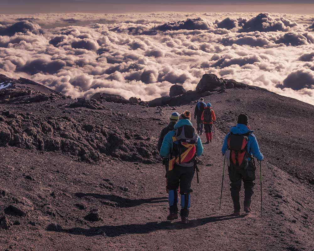 Kilimanjaro Mt Rongai Route In Best Hiking Experiance To Adventures